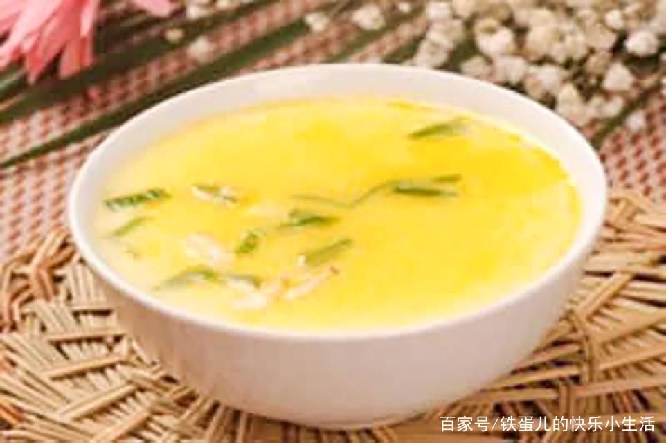 原来蒸鸡蛋羹也有窍门,不加一滴水,保证滑嫩无蜂窝,好吃更美味