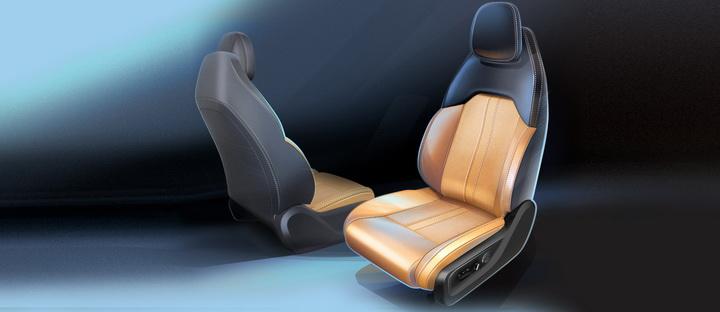 双12.3英寸大屏+运动座椅,全新GS4内饰设计草图曝光