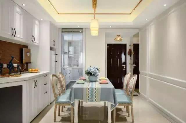 现代美式二居,虽然只有一个儿童房,却可以让一儿一女同时居住
