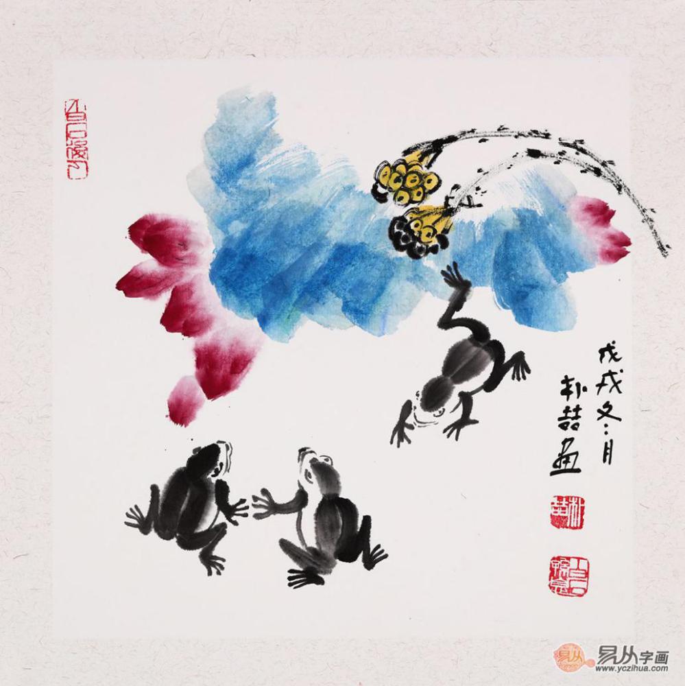 当代艺术:让人心动的艺术作品 朴喆写意花鸟画佳作