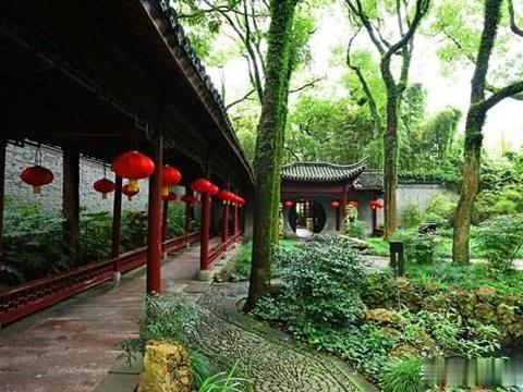 亚洲最老图书馆就在浙江宁波里面像花园一样漂亮,还是4A级景区