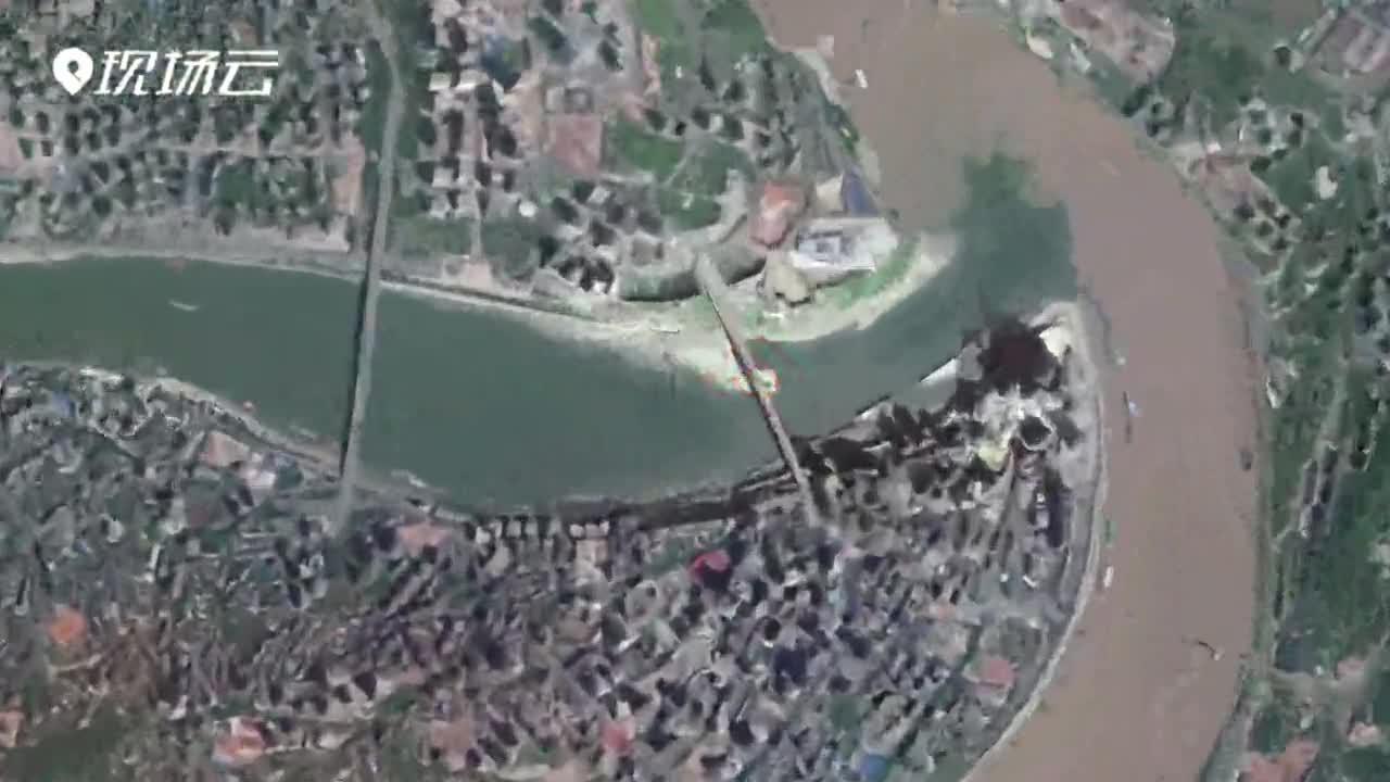 60万米高空看中国|重庆篇:两江奔流处 山水魔幻城
