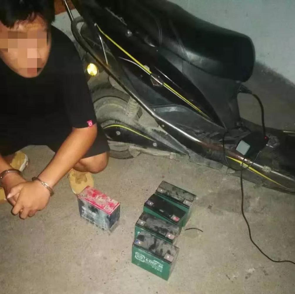 重拳打击!柳州柳东警方破获多起电动车及电瓶盗窃案