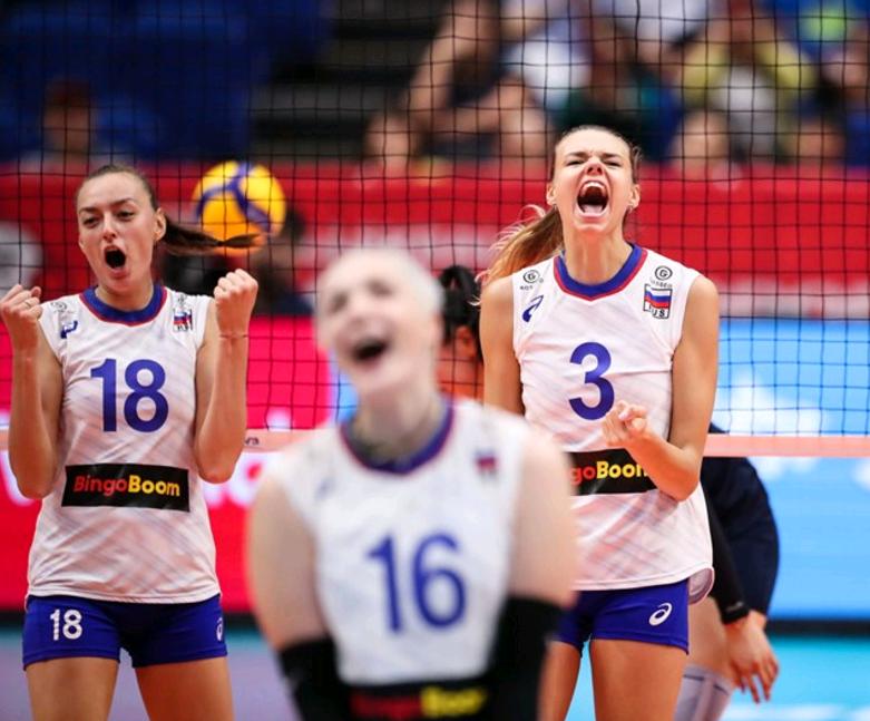 中国女排再获利好!俄罗斯3-0横扫鱼腩对手,将死磕美国队争亚军