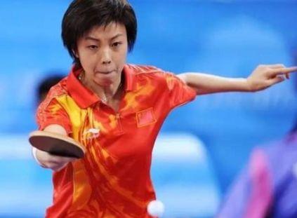 国乒女将张怡宁,单挑男单冠军,这实力还有谁