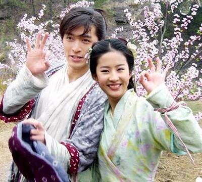 《仙剑1》罕见旧照,17岁的刘亦菲,23岁的胡歌,16岁的刘品言