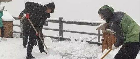 云南昼夜气温相差10℃多,更有地方已经开始下雪…
