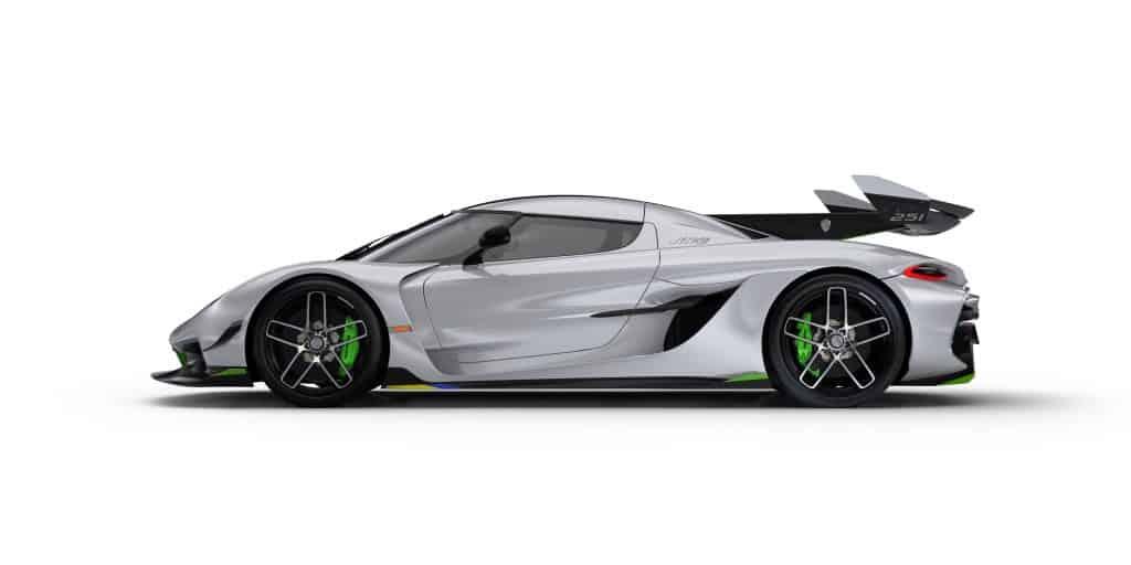 全新性能怪兽科尼赛克Jesko,1280马力650万美元,好想要