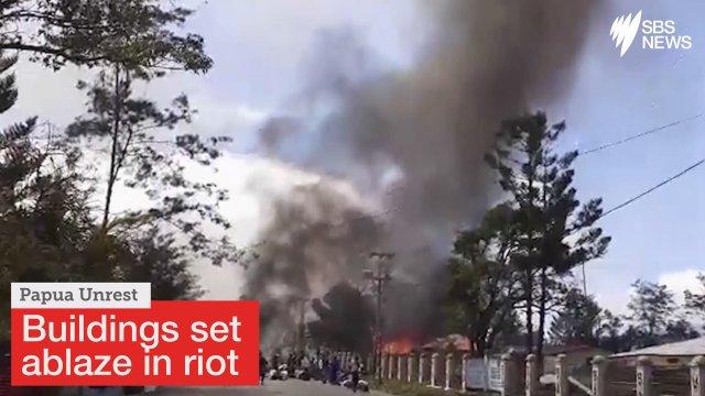 印尼学生爆发骚乱 火烧政府大楼致军警在内26死
