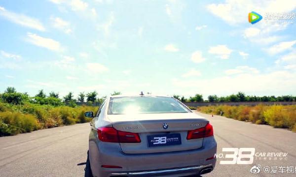 视频:另类测评全新宝马540Li,车辆动态专业测评。