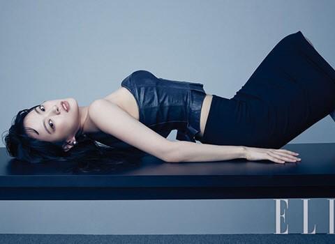 韩国艺人千禹熙刘太旿携手拍时装杂志写真