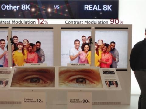 友商互黑还是真相?LG电子称三星电子的8K电视低于标准