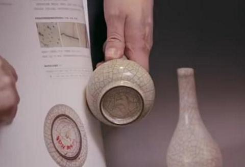 马未都:有一件哥窑仿品,与故宫真品比对,专家不一定能认出