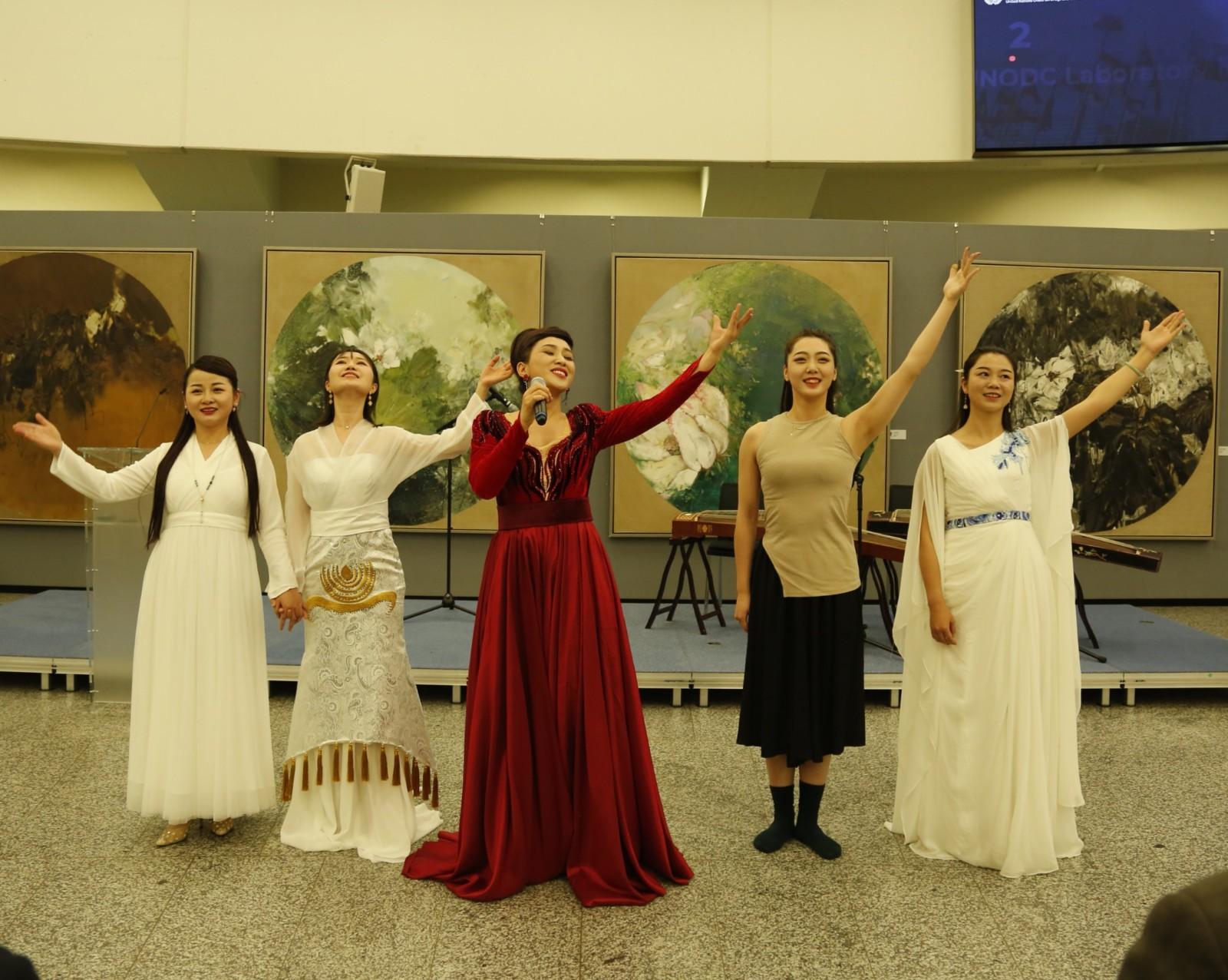 中南大学艺术团把中国音乐带到维也纳