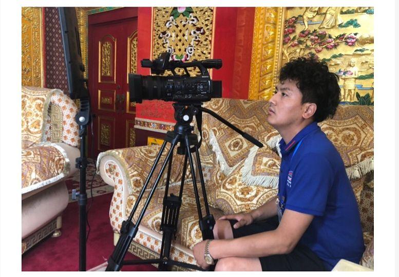 新中国成立70周年甘南广播电视台大型采访活动·相约北京·采访中央民族大学才让太教授