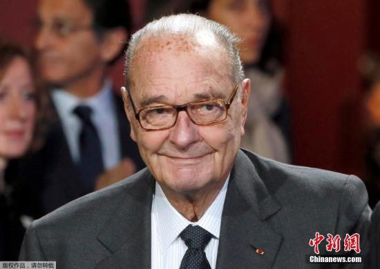 材料图:法国前总统希推克。
