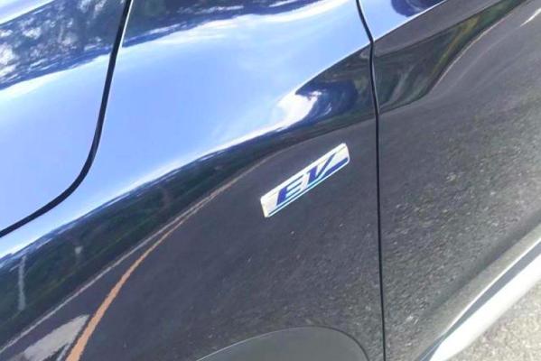 东风本田思铭正式亮相,不挂本田标的纯电动车——X-NV