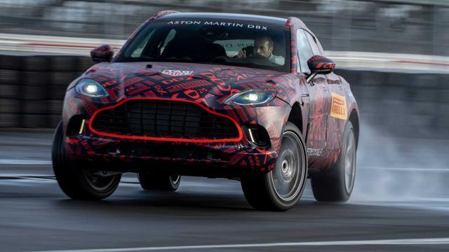 3分钟看车圈:550马力 阿斯顿马丁首款SUV的秘密揭晓