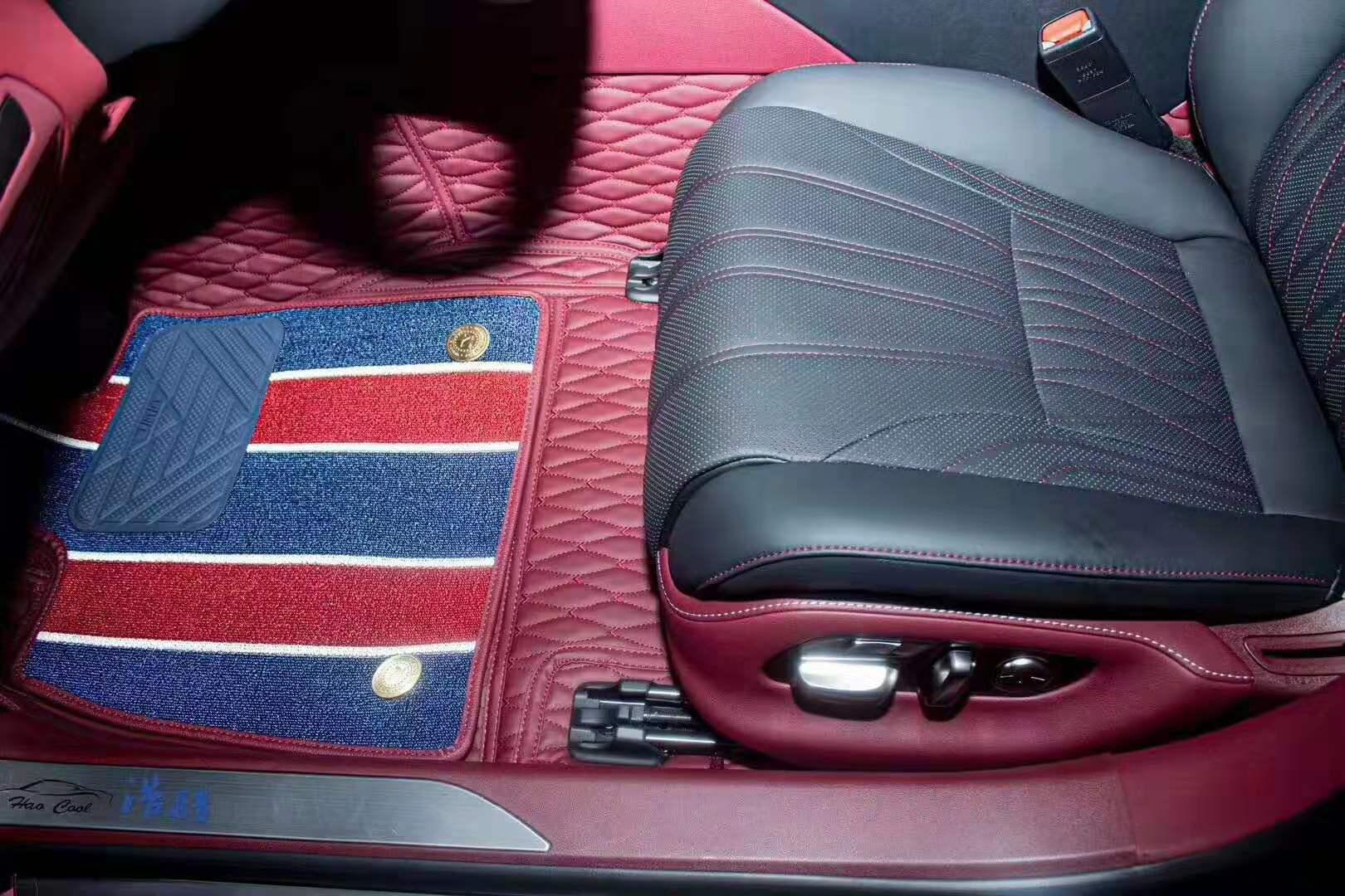 当雷克萨斯LS500h,装上360汽车软包的时候,奢华到了极致。