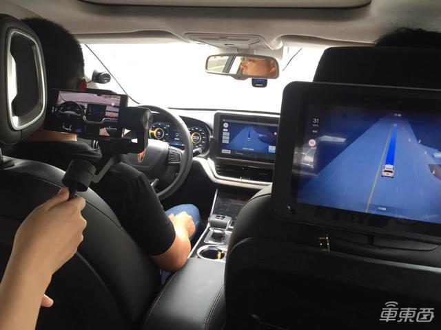 长沙实测百度RoboTaxi!45台车在街上跑,表现像个老司机