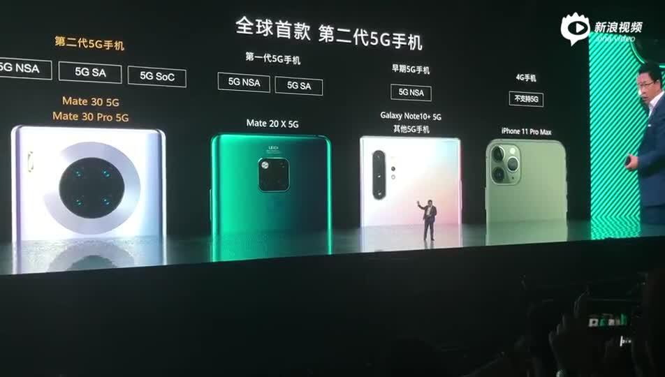 #华为Mate30发布会#华为余承东现场演示:... 来自中新经纬 - 微博