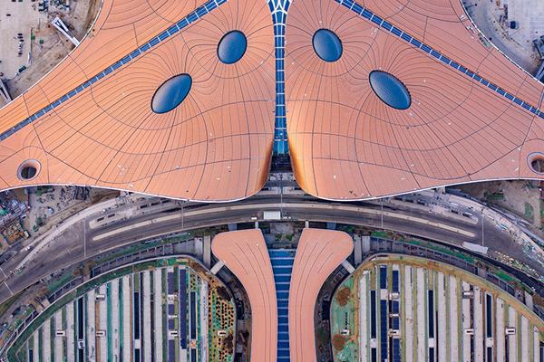 北京年夜兴国际机场 IC 材料图