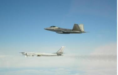 多次试验后,我国终于探测到,美国入驻在韩国的F-22?