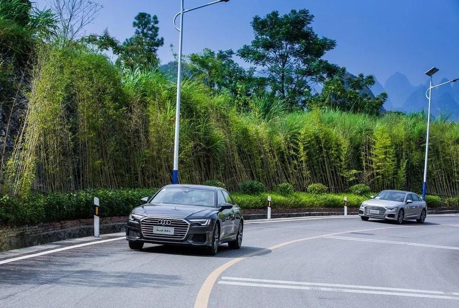 当A6L遇见桂林山水 撩人的不止是风景