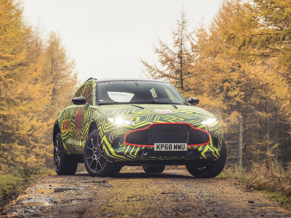 阿斯顿·马丁首款SUV已进入最终阶段测试