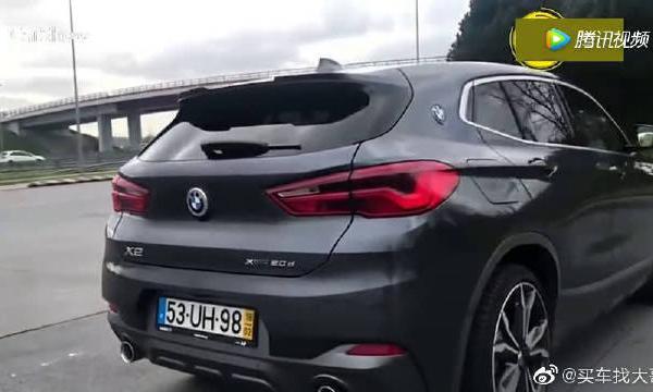 视频:全新宝马X2,外观大改,还买啥奔驰GLA