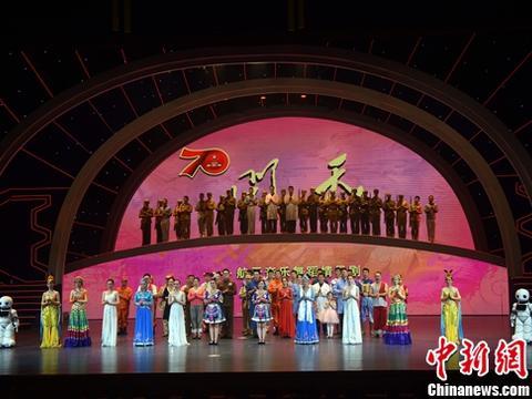 中国航天一线科技人员创作《问天》在北京航天城首演