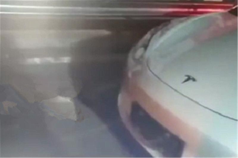 """特斯拉""""自动驾驶""""再出事故!45万Model 3无法识别隔离锥,撞了"""