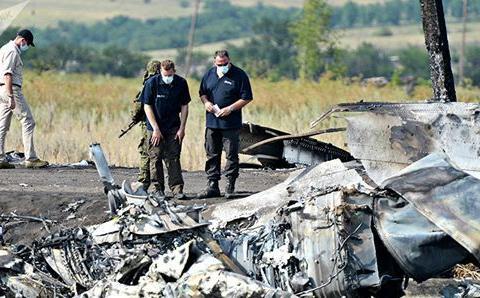 俄外交人士:马航MH17调查完全是定向预想方案