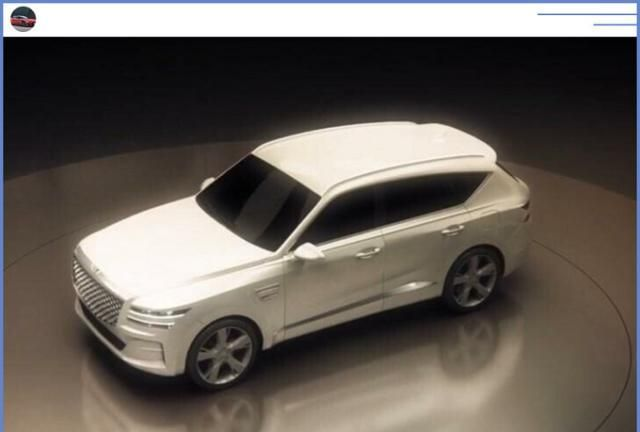 """""""现代""""SUV实拍,与宝马X5同级,外观酷似宾利添越,11月亮相"""