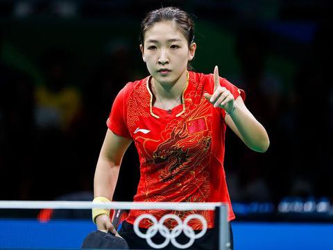 里约奥运会她是团体三打,三年后她成单打首选,刘国梁应该重用她