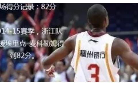 CBA历史的那些夸张数据,李楠单赛季3分命中率64%,胡雪峰砍4双