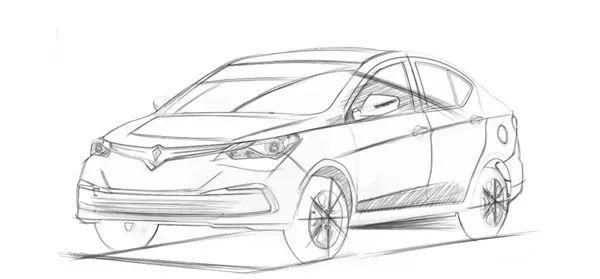 马自达首款混动、纯电动车型即将亮相 野马公布全新电轿设计草图