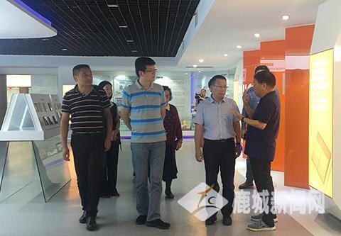 中国自动化学会专家赴鹿调研智能制造