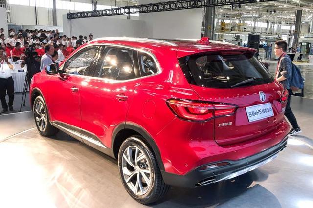 名爵首款插电混合动力SUV国内下线,未来将卖到英国