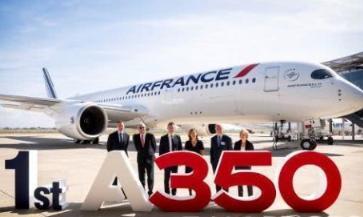 法航共订购了28架A350,计划将其投入跨大西洋和亚洲航线中运营