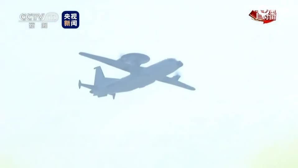 视频-预警指挥机梯队编队:空警-500、空警-200、运-8T和歼-11B