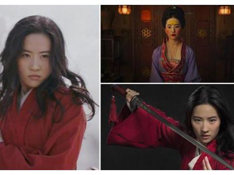 仙女变糙汉,刘亦菲饰演《花木兰》仙气不见,酷炫来袭