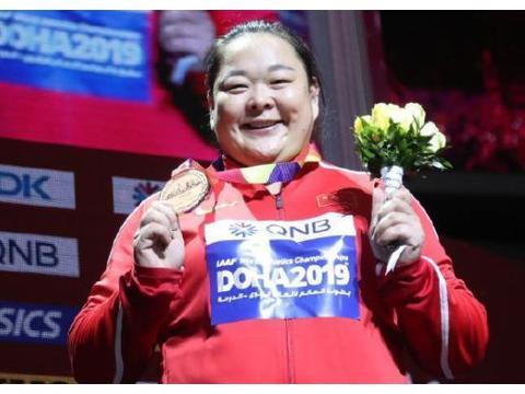 喜讯!陕西名将王铮74米76夺得世锦赛女子链球铜牌 亚洲第一人