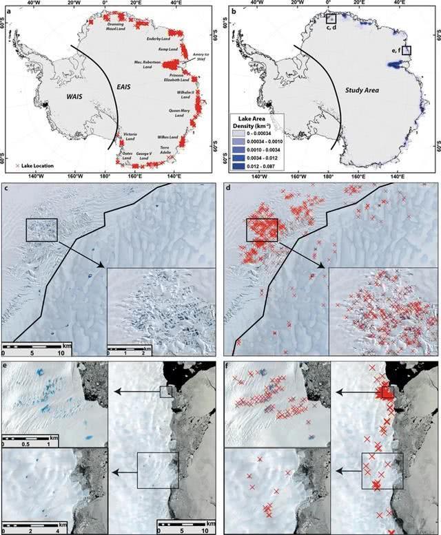 东南极冰盖出现65459个融冰湖,科学家们已彻夜难眠了