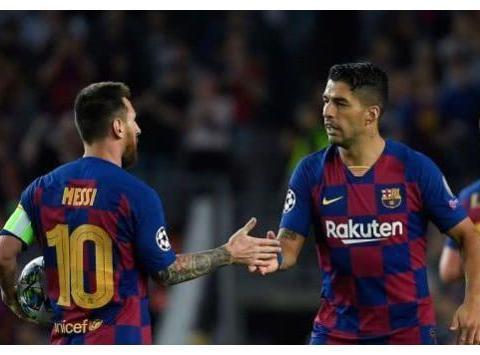 梅西助攻苏牙2球巴萨2-1国米 萨利赫绝杀日韩双星进球红军4-3红牛