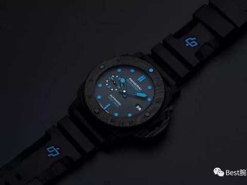 VS厂复刻潜水表沛纳海潜行系列PAM01616腕表! 碳纤维表壳