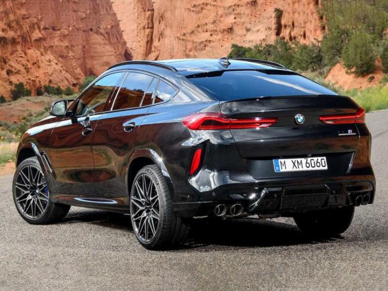 搭载4.4T V8发动机 宝马X5 M/X6 M官图发布