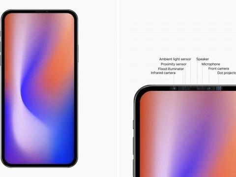 iPhone12无刘海设计采用直角金属边框