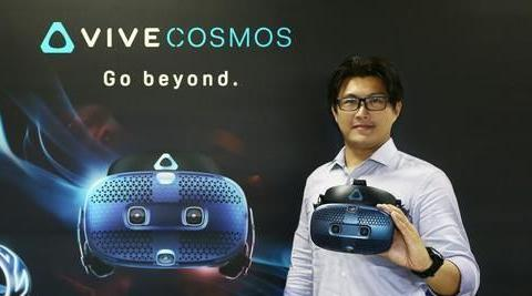 高阶VR再进化!瞬间切换虚实空间 HTC VIVE COSMOS正式开卖