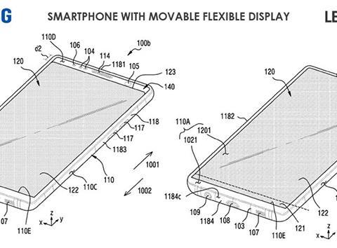 滑动屏幕实现真全面屏 三星或正研发可移动柔性屏手机